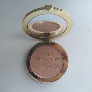 Too faced milk chocolate matte bronzer